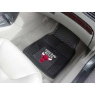 "Chicago Bulls 18"" x 27"" Heavy Duty Vinyl Auto Floor Mat (Set of 2 Car Mats)"