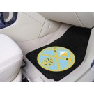 "Denver Nuggets 18"" x 27"" Auto Floor Mat (Set of 2 Car Mats)"