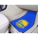 "Golden State Warriors 18"" x 27"" Auto Floor Mat (Set of 2 Car Mats)"