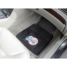 "Los Angeles Clippers 18"" x 27"" Heavy Duty Vinyl Auto Floor Mat (Set of 2 Car Mats)"