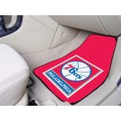 "Philadelphia 76ers 18"" x 27"" Auto Floor Mat (Set of 2 Car Mats)"