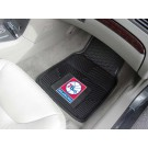 "Philadelphia 76ers 17"" x 27"" Heavy Duty Vinyl Auto Floor Mat (Set of 2 Car Mats)"