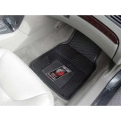 "Portland Trailblazers 17"" x 27"" Heavy Duty Vinyl Auto Floor Mat (Set of 2 Car Mats)"