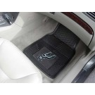 "San Antonio Spurs 18"" x 27"" Heavy Duty Vinyl Auto Floor Mat (Set of 2 Car Mats)"