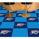 "Oklahoma City Thunder 18"" x 18"" Carpet Tiles (Box of 20)"