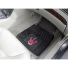 "Toronto Raptors 17"" x 27"" Heavy Duty Vinyl Auto Floor Mat (Set of 2 Car Mats)"