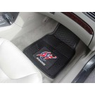"Washington Wizards 17"" x 27"" Heavy Duty Vinyl Auto Floor Mat (Set of 2 Car Mats)"