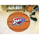 "Oklahoma City Thunder 27"" Basketball Mat"