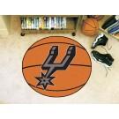 "San Antonio Spurs 29"" Basketball Mat"