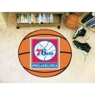"""Philadelphia 76ers 27"""" Basketball Mat"""