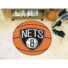 """New Jersey Nets 27"""" Basketball Mat"""