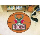 "Milwaukee Bucks 27"" Basketball Mat"