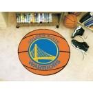 """Golden State Warriors 27"""" Basketball Mat"""
