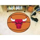 """Chicago Bulls 27"""" Basketball Mat"""