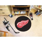 "Detroit Red Wings 27"" Round Puck Mat"