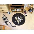 "Pittsburgh Penguins 27"" Round Puck Mat"