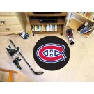 "Montreal Canadiens 27"" Round Puck Mat"