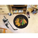 "Chicago Blackhawks 27"" Round Puck Mat"