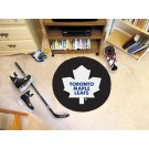"Toronto Maple Leafs 27"" Round Puck Mat"