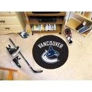 "Vancouver Canucks 27"" Round Puck Mat"