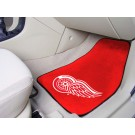 "Detroit Red Wings 18"" x 27"" Auto Floor Mat (Set of 2 Car Mats) (Red)"