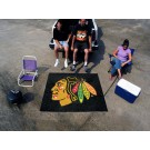 Chicago Blackhawks 5' x 6' Tailgater Mat by