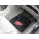 "Detroit Red Wings 17"" x 27"" Heavy Duty Vinyl Auto Floor Mat (Set of 2 Car Mats)"