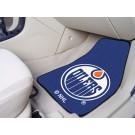 """Edmonton Oilers 18"""" x 27"""" Auto Floor Mat (Set of 2 Car Mats)"""