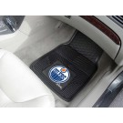 "Edmonton Oilers 17"" x 27"" Heavy Duty Vinyl Auto Floor Mat (Set of 2 Car Mats)"