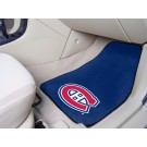 "Montreal Canadiens 18"" x 27"" Auto Floor Mat (Set of 2 Car Mats)"