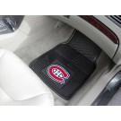"Montreal Canadiens 17"" x 27"" Heavy Duty Vinyl Auto Floor Mat (Set of 2 Car Mats)"