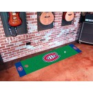 "Montreal Canadiens 18"" x 72"" Golf Putting Green Mat"