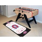 "Montreal Canadiens 30"" x 72"" Hockey Rink Runner"
