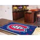 Montreal Canadiens 5' x 8' Area Rug by