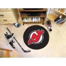 "New Jersey Devils 27"" Round Puck Mat"