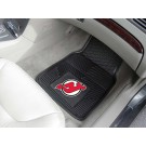 "New Jersey Devils 17"" x 27"" Heavy Duty Vinyl Auto Floor Mat (Set of 2 Car Mats)"