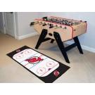 """New Jersey Devils 30"""" x 72"""" Hockey Rink Runner"""