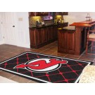 New Jersey Devils 5' x 8' Area Rug by