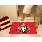 "Ottawa Senators 34"" x 45"" All Star Floor Mat"