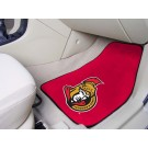 "Ottawa Senators 18"" x 27"" Auto Floor Mat (Set of 2 Car Mats)"
