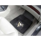 "Pittsburgh Penguins 17"" x 27"" Heavy Duty Vinyl Auto Floor Mat (Set of 2 Car Mats)"