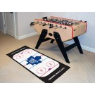 "Toronto Maple Leafs 30"" x 72"" Hockey Rink Runner"