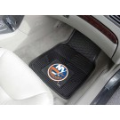 "New York Islanders 17"" x 27"" Heavy Duty Vinyl Auto Floor Mat (Set of 2 Car Mats)"