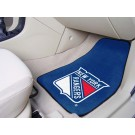 "New York Rangers 18"" x 27"" Auto Floor Mat (Set of 2 Car Mats)"