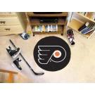 "Philadelphia Flyers 27"" Round Puck Mat"