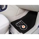 """Philadelphia Flyers 18"""" x 27"""" Auto Floor Mat (Set of 2 Car Mats)"""