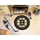"Boston Bruins 27"" Round Puck Mat"
