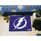 """Tampa Bay Lightning 19"""" x 30"""" Starter Mat"""
