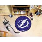 """Tampa Bay Lightning 27"""" Round Puck Mat"""