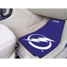 "Tampa Bay Lightning 18"" x 27"" Auto Floor Mat (Set of 2 Car Mats)"